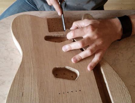 Sei appassionato di chitarre hand-made?